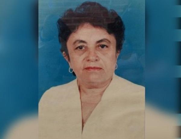 Morre em Teresina, aos 81 anos de idade, ex-prefeita de Tanque do Piauí, Naninha