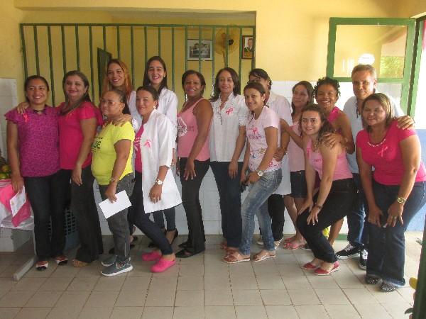 Unidade Mista de Saúde inicia a primeira Jornada do Outubro Rosa em Agricolândia