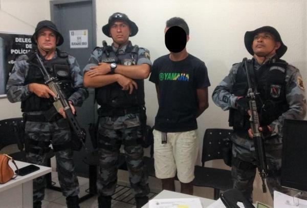 Em Agricolândia, Polícia Militar apreende menor que praticou assalto após sair de audiência