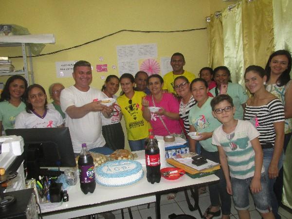 Secretaria de Saúde realiza festa surpresa em homenagem ao dia do Agente de Saúde em Agricolândia