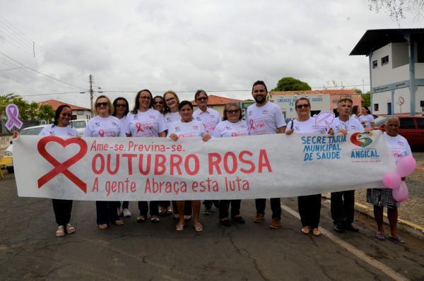 Secretaria de Saúde de Angical desenvolve ações em prol do Outubro Rosa