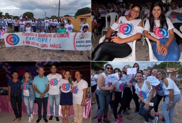 Prefeitura de Barro Duro promove caminhada em prol da campanha do Outubro Rosa e Novembro Azul