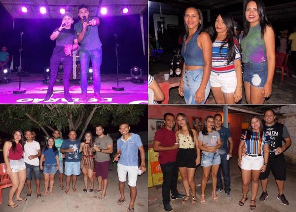 Veja imagens do show com os Meninos de Barão e Bakanas do Forró em São Gonçalo do Piauí