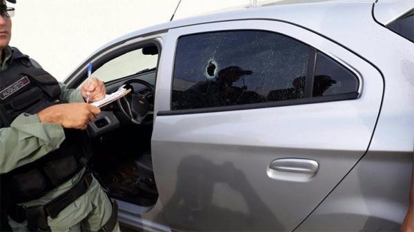 Em Teresina, mulher é baleada na cabeça em tentativa de assalto e só percebe depois