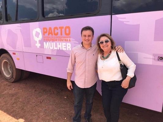 São Pedro recebe programa Pacto de Enfrentamento à Violência contra a Mulher