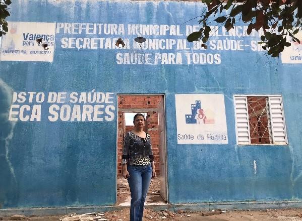 Em Valença do Piauí, prefeita é acusada de pagar mais de R$ 100 mil por obra não realizada