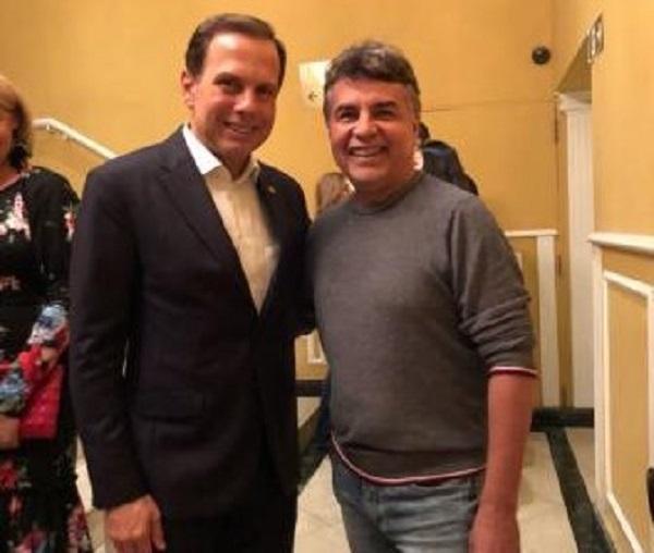 Prefeito de Monsenhor Gil se reúne com o Prefeito de São Paulo, João Doria