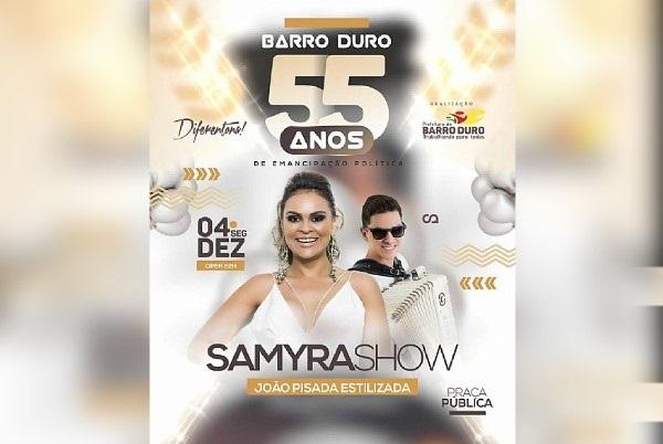Barro Duro comemora 55 anos de emancipação política com grande programação; veja
