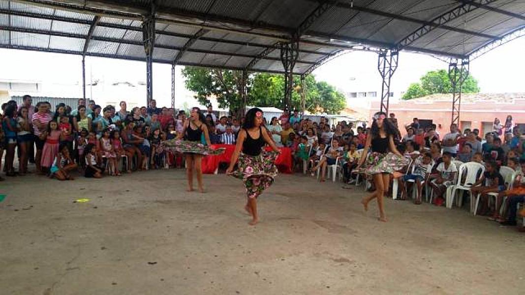 Apresentações culturais marcam abertura das comemorações do 55º aniversário de Barro Duro