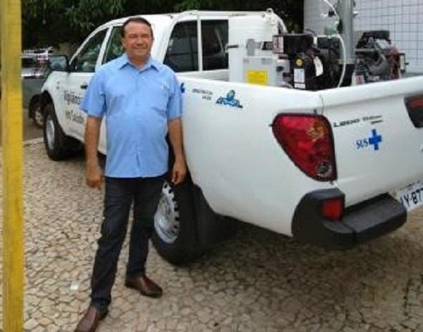 Prefeito de Curralinhos, Alcides Oliveira, participa de reunião na APPM em Teresina