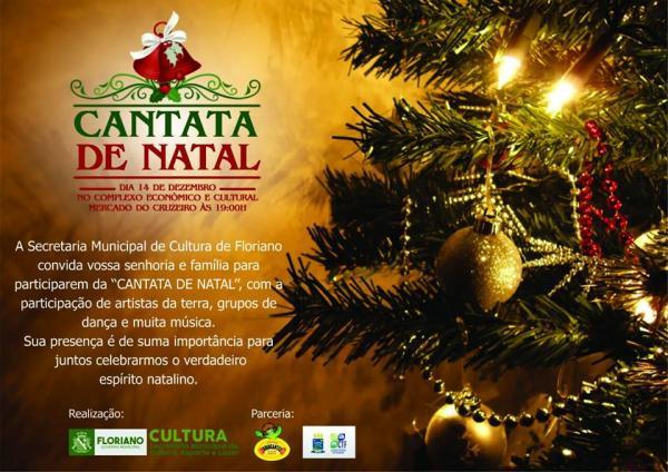 Floriano celebra espírito natalino com Cantata de Natal nesta quinta-feira