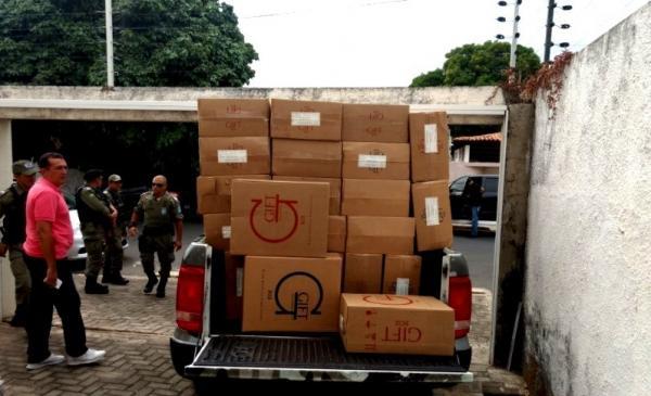 Ex-policiais são presos suspeitos de envolvimento com roubo de cargas rm Teresina