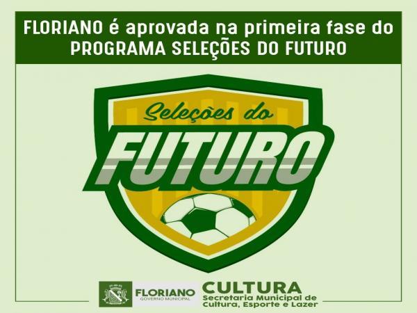 """Floriano é aprovada na primeira fase para implantação do programa """"Seleções do Futuro"""""""