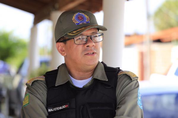 Major Etevaldo (Divulgação Ascom)