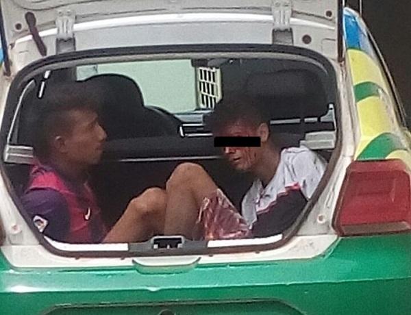 População tenta linchar assaltantes no centro de Agricolândia