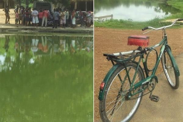 Idoso de 72 anos morre afogado após cair de bicicleta dentro de lagoa em Agricolândia
