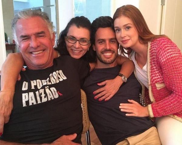 Marina Ruy Barbosa flagrou a sogra falando mal dela via whatsapp