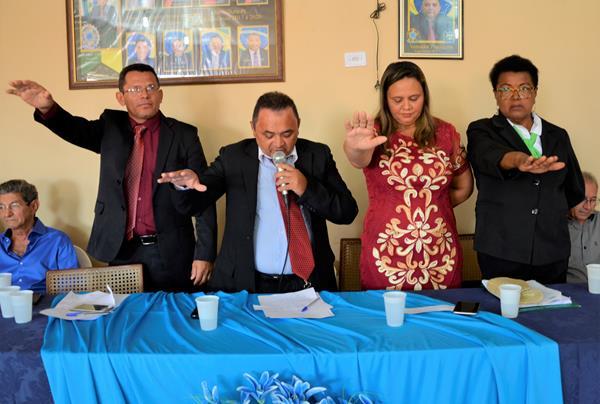 Em Sessão Solene, Câmara Municipal de Barro Duro empossa no Mesa Diretora