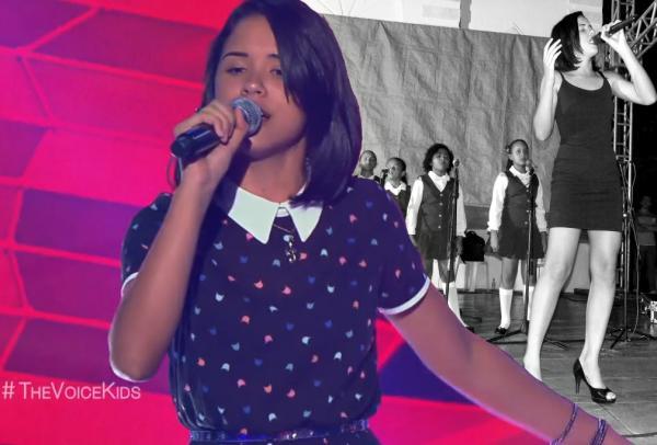 Allyne Conrado, que encantou no Natal de São Pedro do Piauí, canta no The Voice Kids da TV Globo