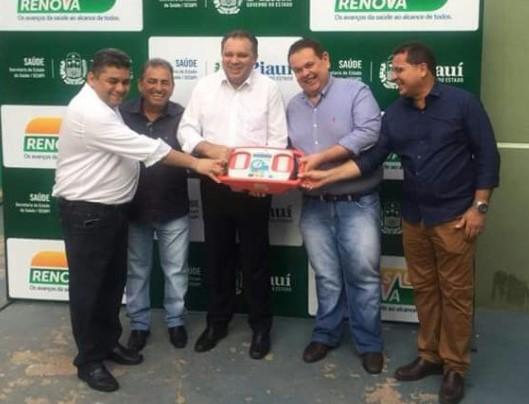 Hospital de Demerval Lobão recebe equipamentos do programa Renova Saúde