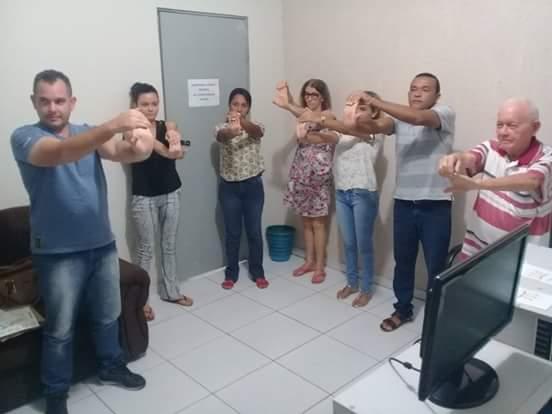 Secretaria Municipal de Saúde lança Projeto Ginástica Laboral