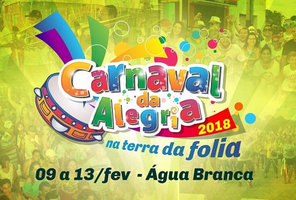Bloco dos Paredões abre programação do Carnaval de Água Branca 2018