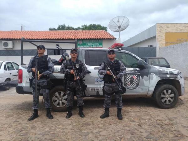 Força Tática apreende menor após roubo de celular em Olho D'Água do Piauí