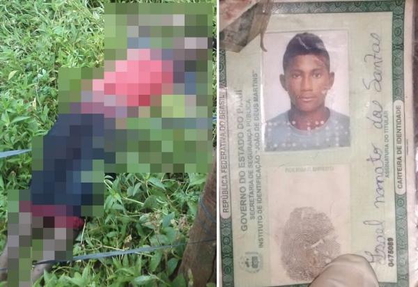 Suspeito é morto a golpe de faca após tentar roubar residência no bairro Montevideo, em Angical do Piauí