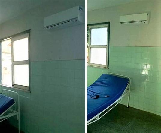 Prefeitura de Barro Duro climatiza enfermarias da Unidade Mista de Saúde