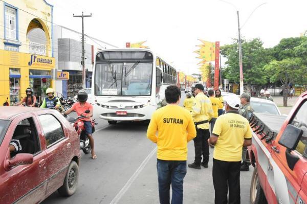 Sutran e parceiros realizam campanha 'Carnaval Sem Acidentes' em Floriano