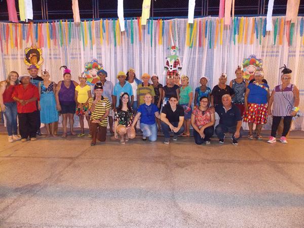 Prefeitura de São Gonçalo do Piauí promove carnaval para participantes dos grupos SCFV
