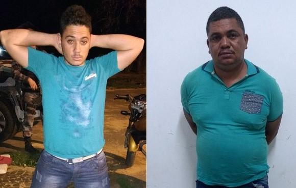 Dupla é presa com drogas escondida na carenagem de motocicleta no bairro Montevideo em Angical do Piauí