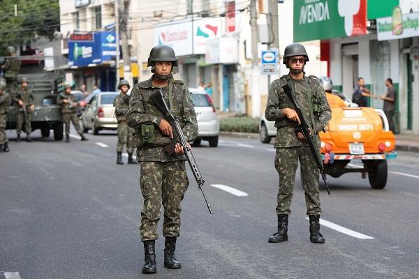 Exército vai atuar no Rio de Janeiro (Foto: Dida Sampaio/Estadão Conteúdo)