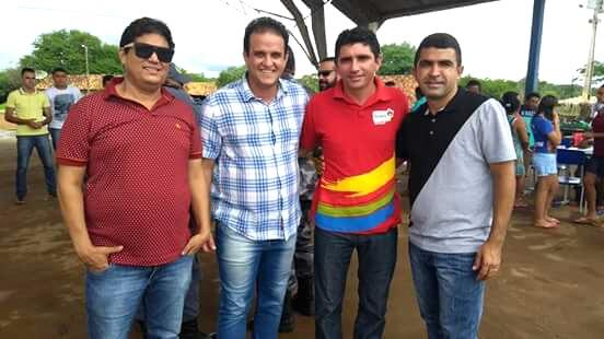 Prefeito Diego Teixeira participa de inauguração de posto policial no Mimoso-MA