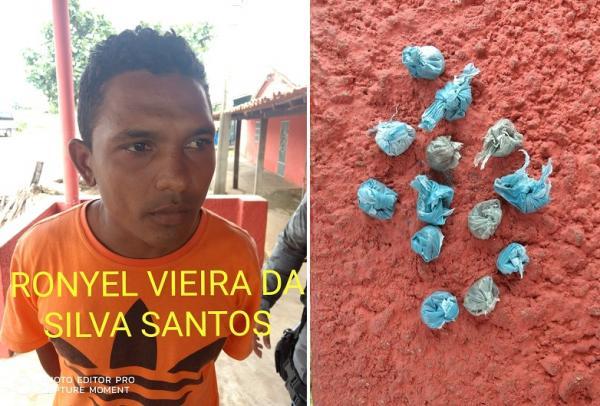 Homem é preso com drogas na rodoviária da cidade de Amarante