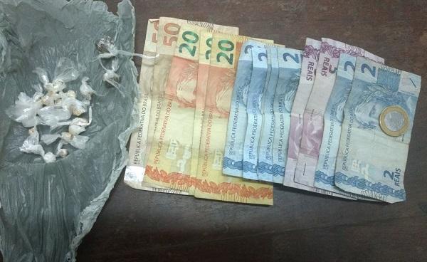 Jovem de 19 anos é preso acusado de tráfico de drogas em Amarante