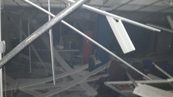 Quadrilha explode agência do Banco do Bradesco na cidade de Castelo do Piauí