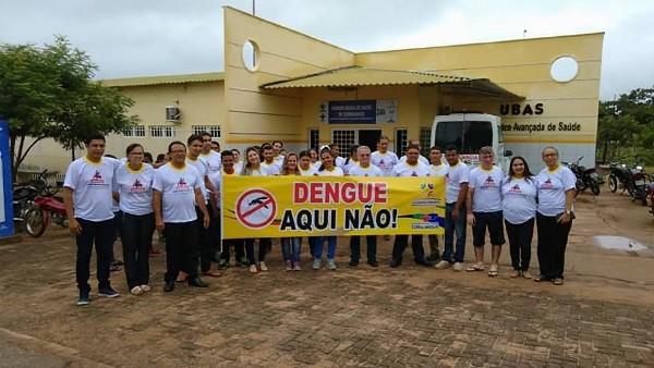 Saúde divulga programação da Campanha contra a Dengue em Curralinhos