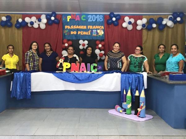 Prefeitura de Passagem Franca realiza encontro do PNAIC