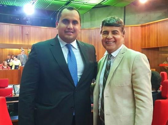 Prefeito de Monsenhor Gil se reúne com deputado Georgiano Neto visando melhorias para o município