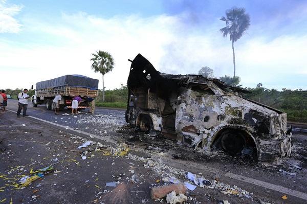 Vigilante da Prosegur baleado na cabeça durante assalto a carro-forte continua em estado grave