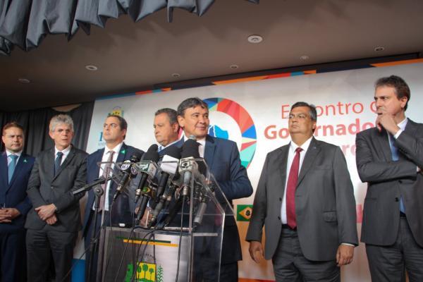 Governadores do Nordeste estabelecem metas em encontro realizado em Teresina