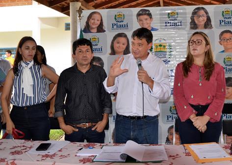 Governador Wellington Dias visita o município de São Miguel da Baixa Grande
