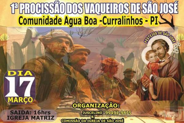 De 10 a 19 de março acontece os festejos da comunidade Água Boa, município de Curralinhos