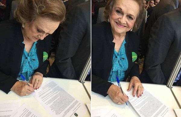 Angical do Piauí | Prefeita Neta Santos assina convênio para implantação do Internet Para Todos