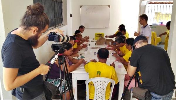 Equipe de Brasília gravou durante três dias no município
