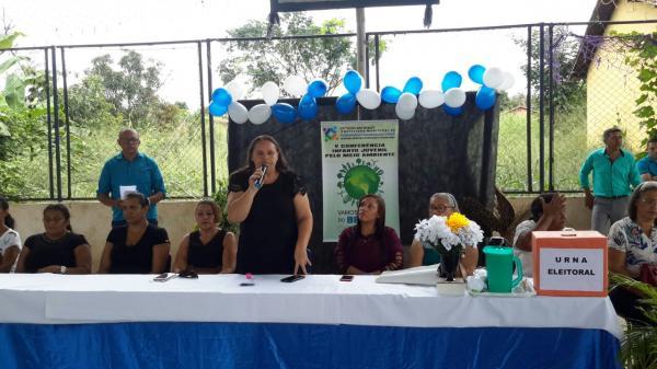 Escola da rede pública municipal realiza etapa da V Conferência Infanto-Juvenil pelo Meio Ambiente em Passagem Franca