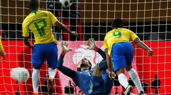 Brasil joga bem e vence a Alemanha na preparação para a Copa