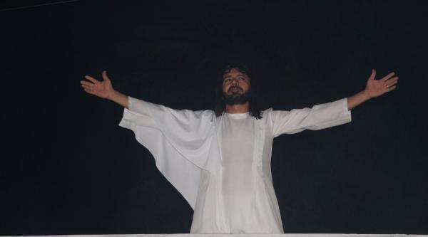 Espetáculo Paixão de Cristo reuniu milhares de pessoas em São Pedro do Piauí