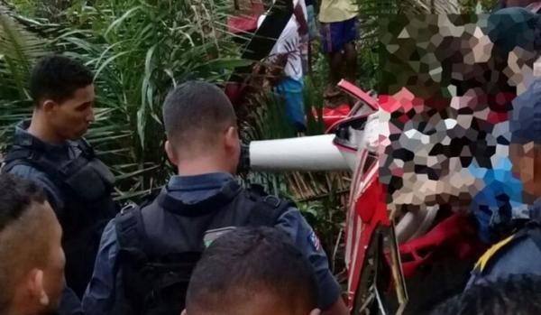 O helicóptero caiu na tarde deste domingo deixando quatro pessoas mortas no Maranhão (Imagem: Divulgação)